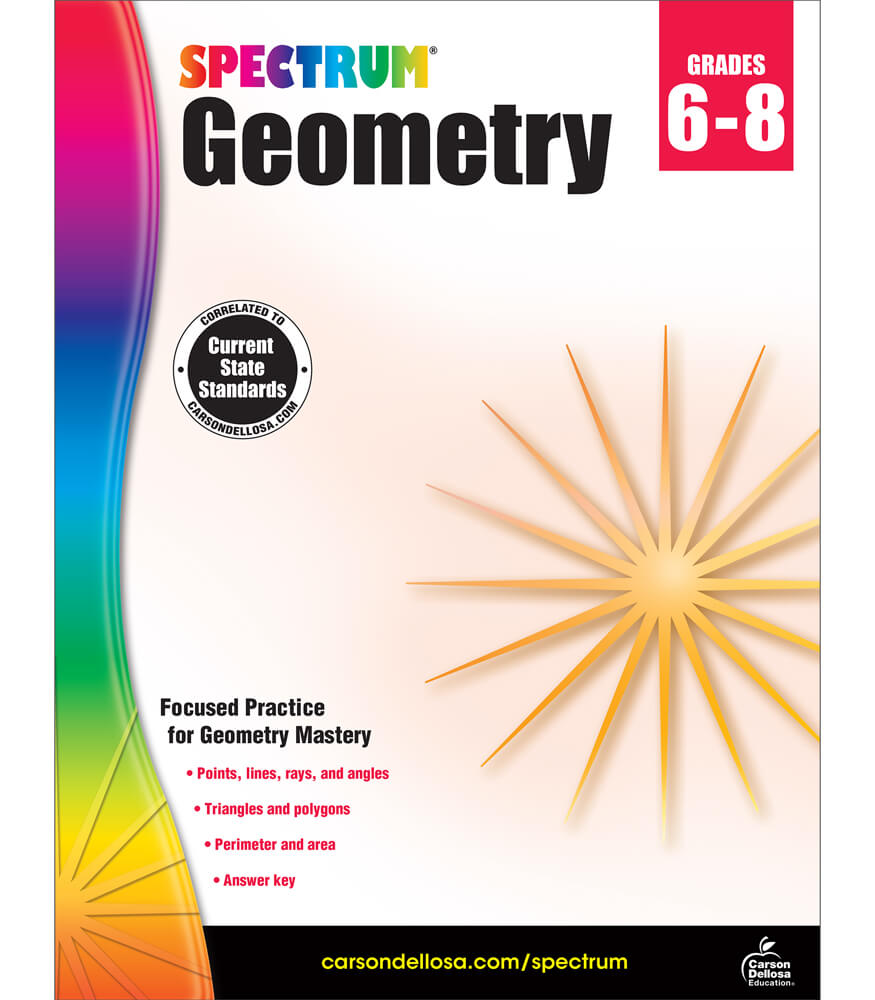 Spectrum Geometry Workbook Product Image