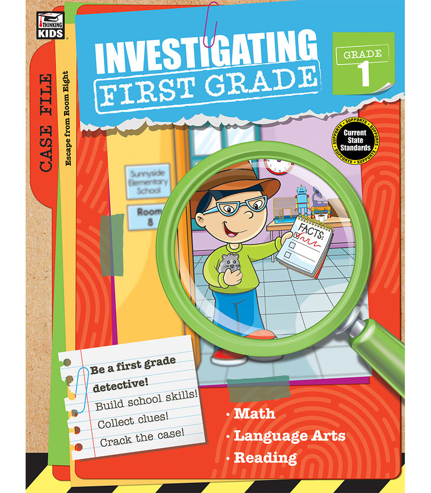 Investigating First Grade Workbook Product Image