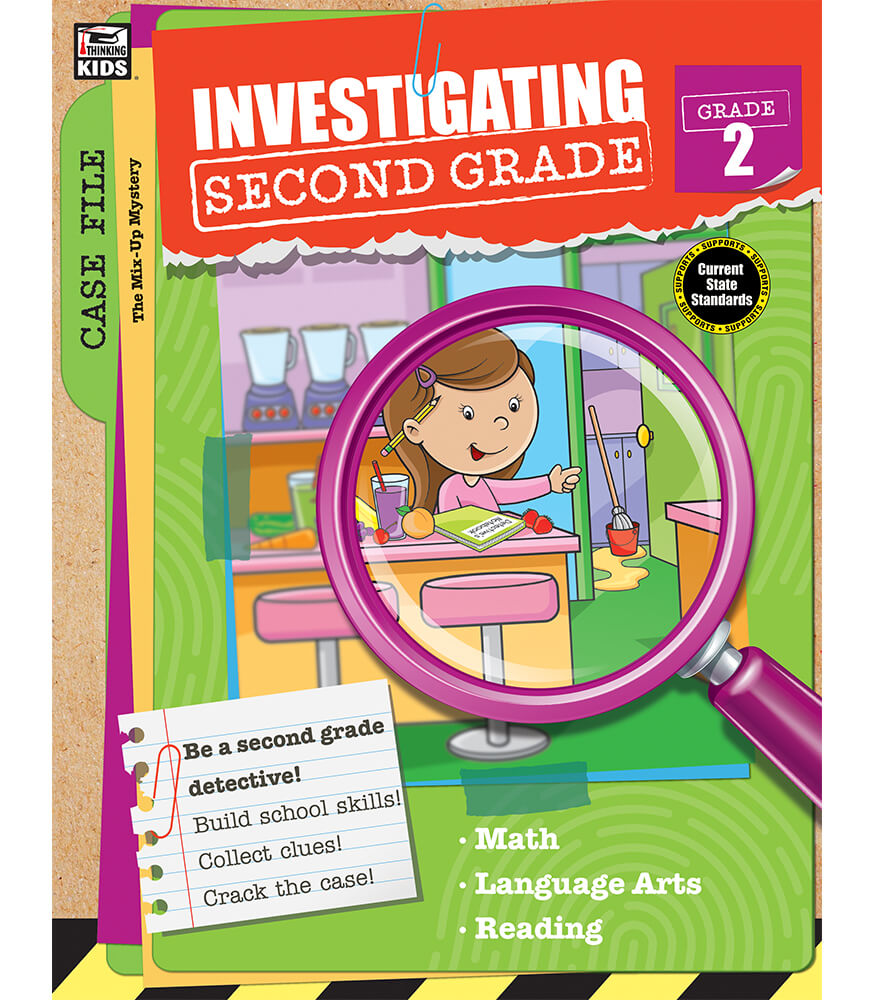 Investigating Second Grade Workbook Product Image