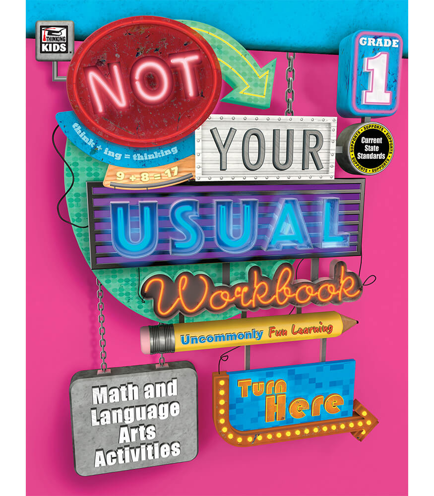 Not Your Usual Workbook Product Image