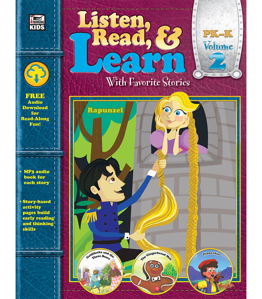 Listen, Read, & Learn Volume 2 Workbook