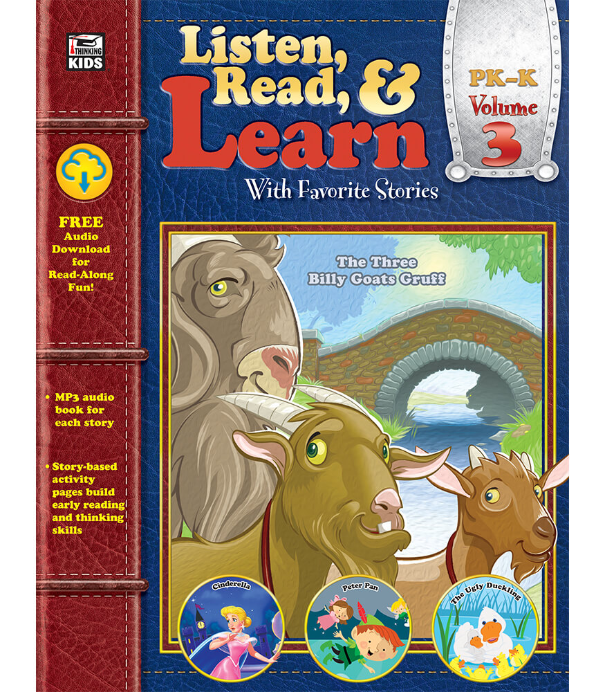 Listen, Read, & Learn Volume 3 Workbook Product Image