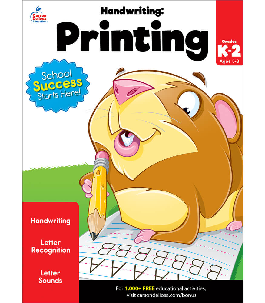 Handwriting: Printing Workbook Product Image
