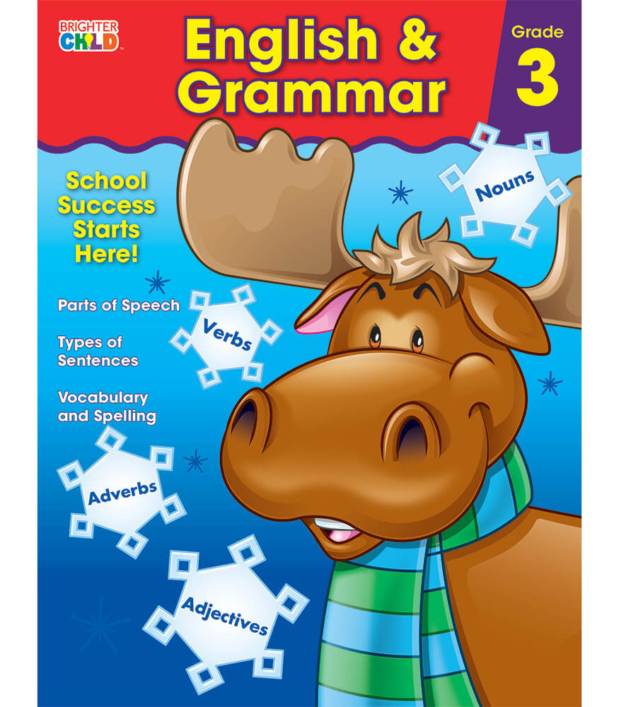 English & Grammar Workbook Product Image