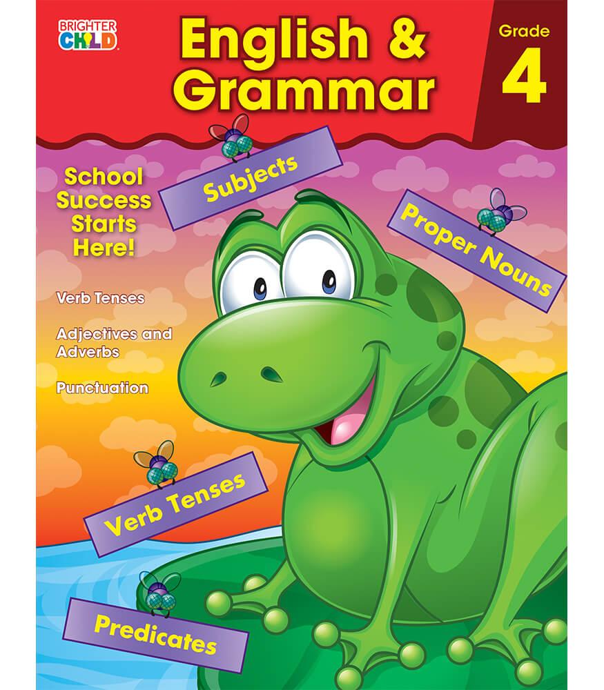 Workbooks grammar and punctuation workbook : English & Grammar Workbook Grade 4 | Carson-Dellosa Publishing