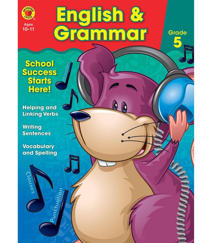 English & Grammar Workbook Product Image