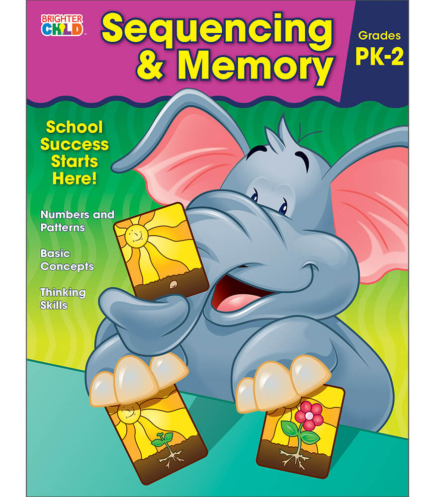 Sequencing & Memory Workbook Product Image