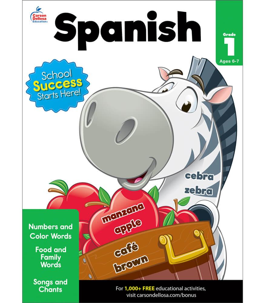 Spanish Workbook Product Image