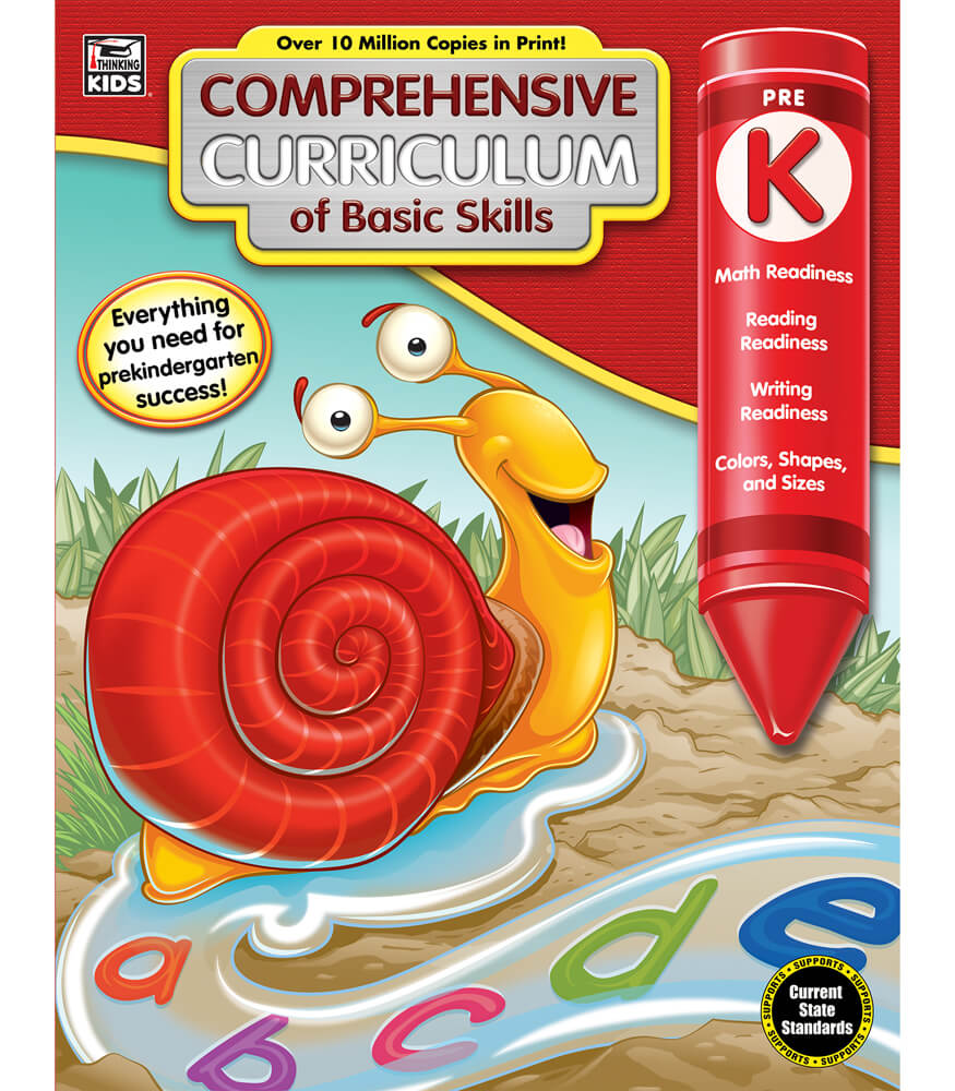 Comprehensive curriculum of basic skills workbook grade pk comprehensive curriculum of basic skills workbook fandeluxe Image collections