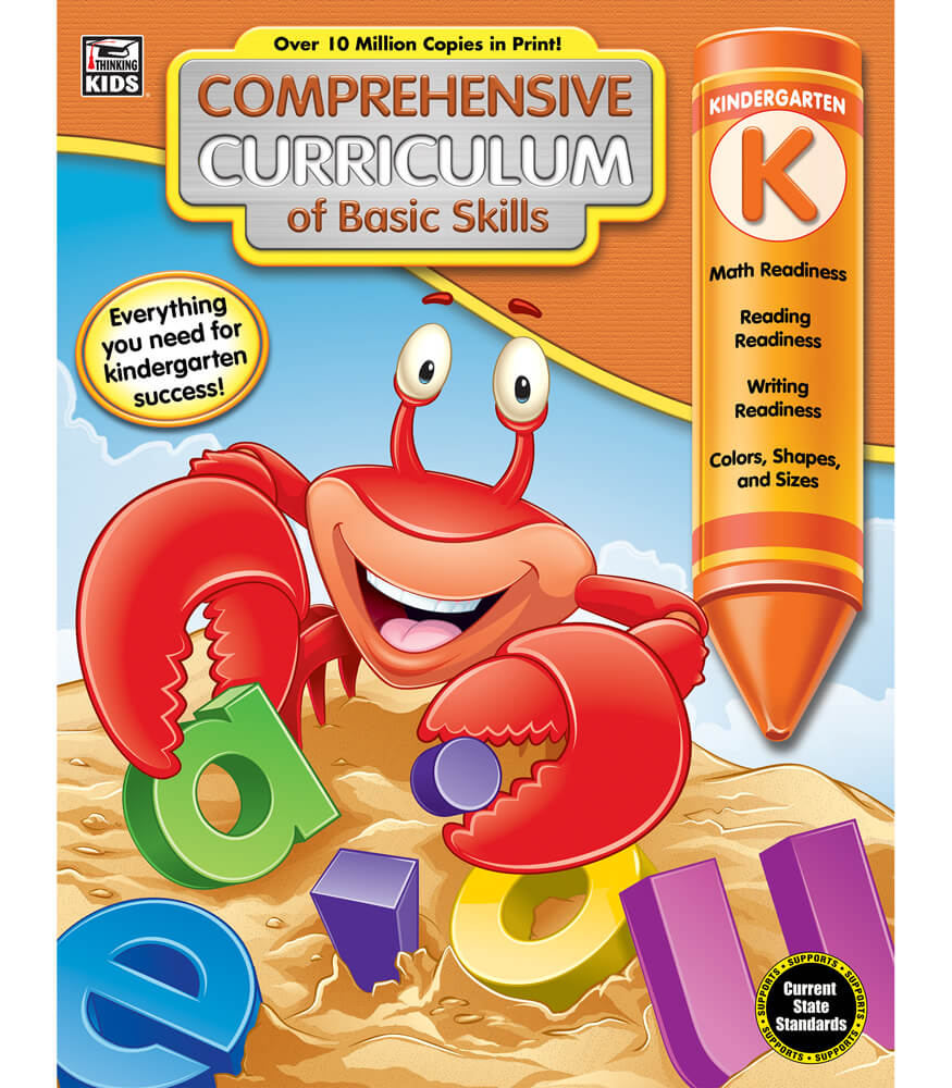 Comprehensive Curriculum of Basic Skills Workbook Product Image