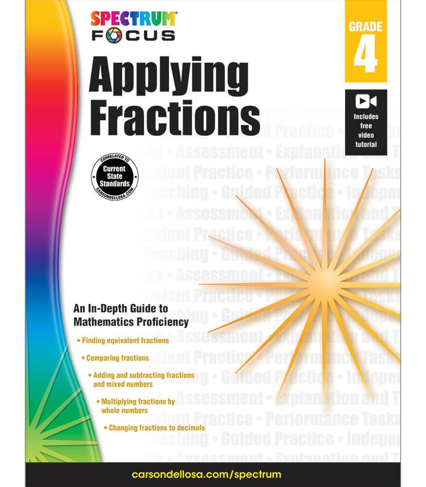 Spectrum Focus: Applying Fractions Workbook Product Image