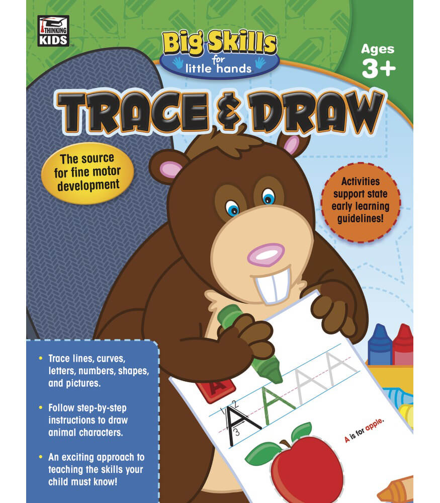 Trace & Draw Workbook Product Image