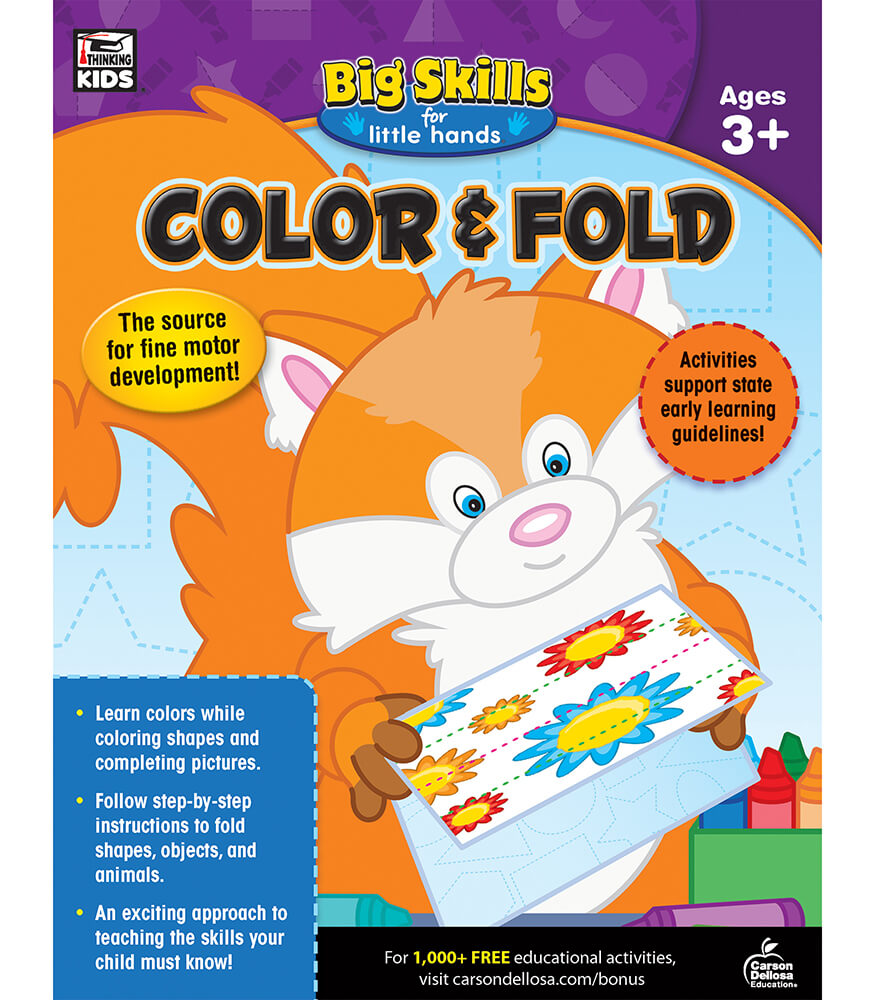 Color & Fold Workbook Product Image