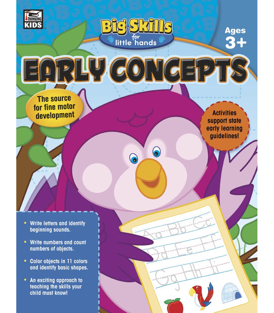 Early Concepts Workbook Product Image