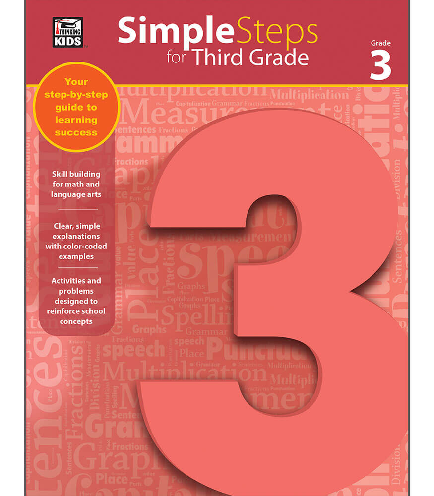 Simple Steps for Third Grade Workbook Product Image