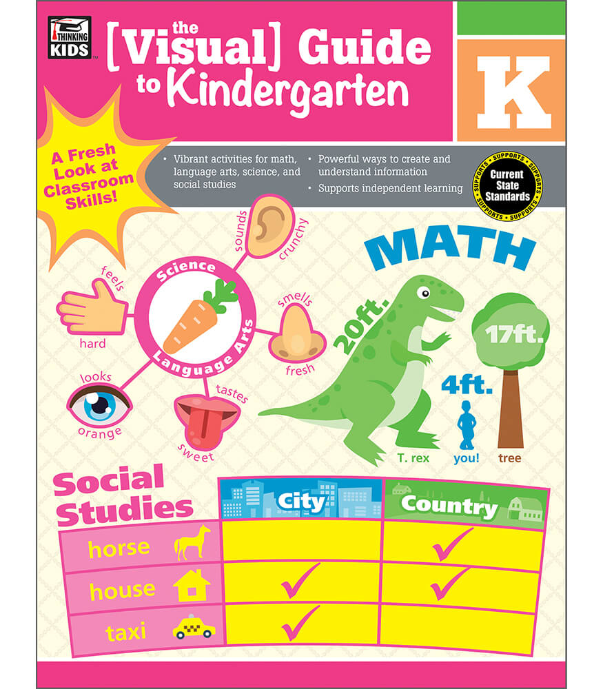 The Visual Guide to Kindergarten Workbook Product Image