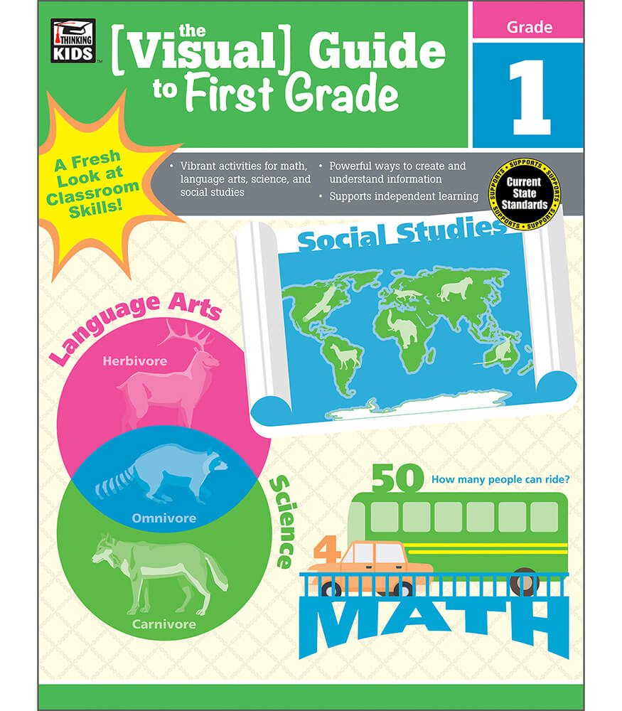 The Visual Guide to First Grade Workbook Product Image