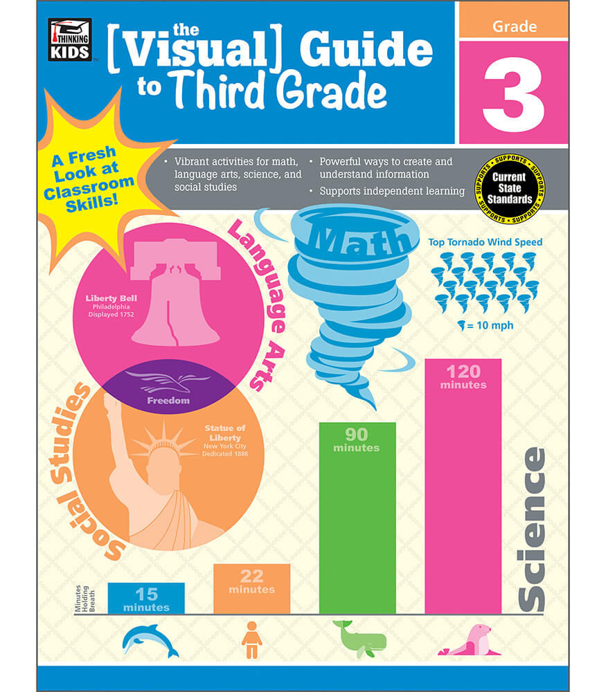 The Visual Guide to Third Grade Workbook Product Image