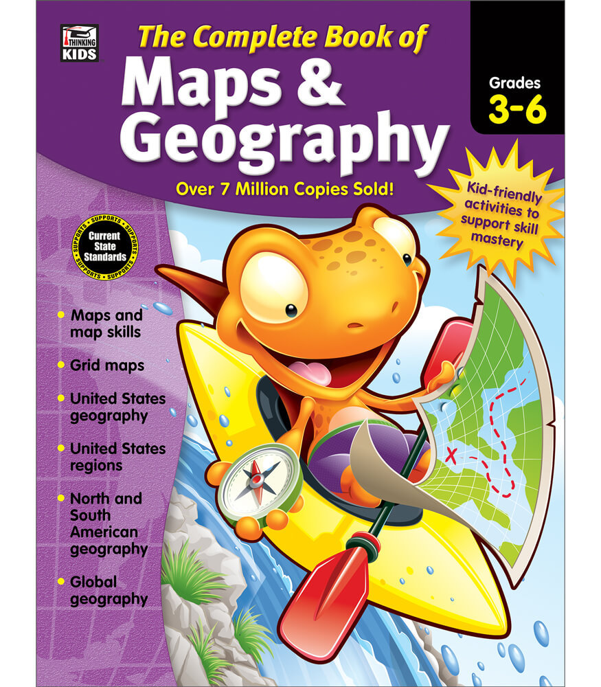 The Complete Book of Maps & Geography Workbook