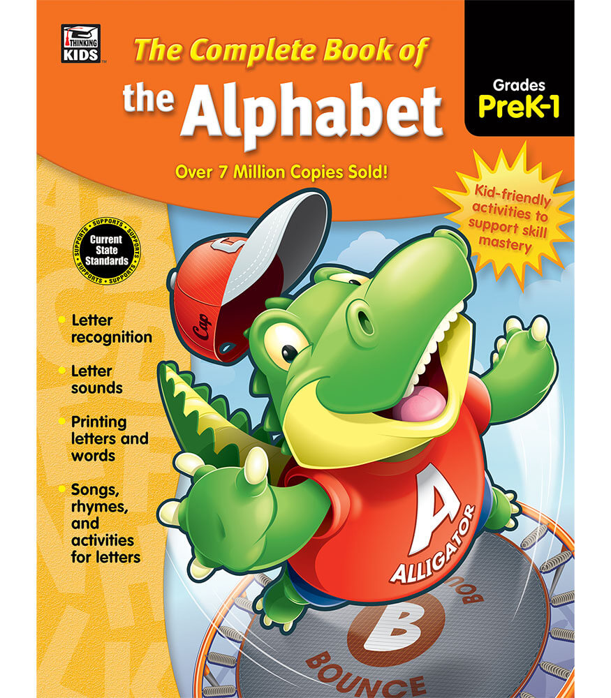 The Complete Book of the Alphabet Workbook Product Image