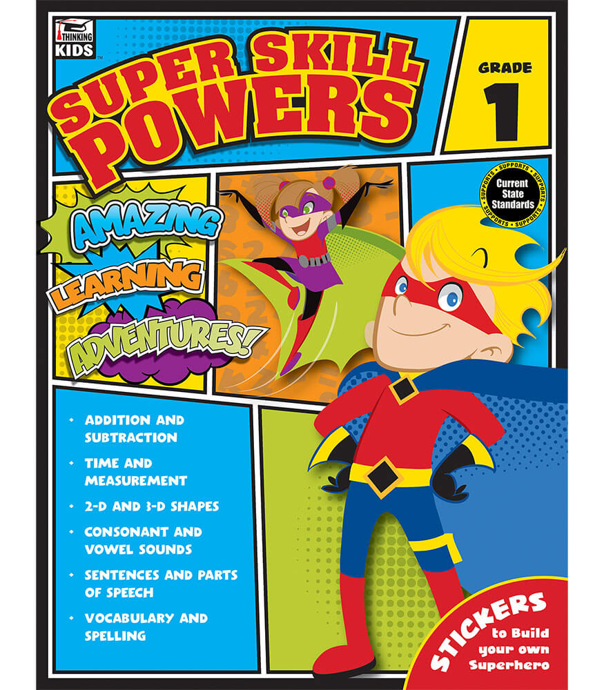 Super Skill Powers Workbook Product Image