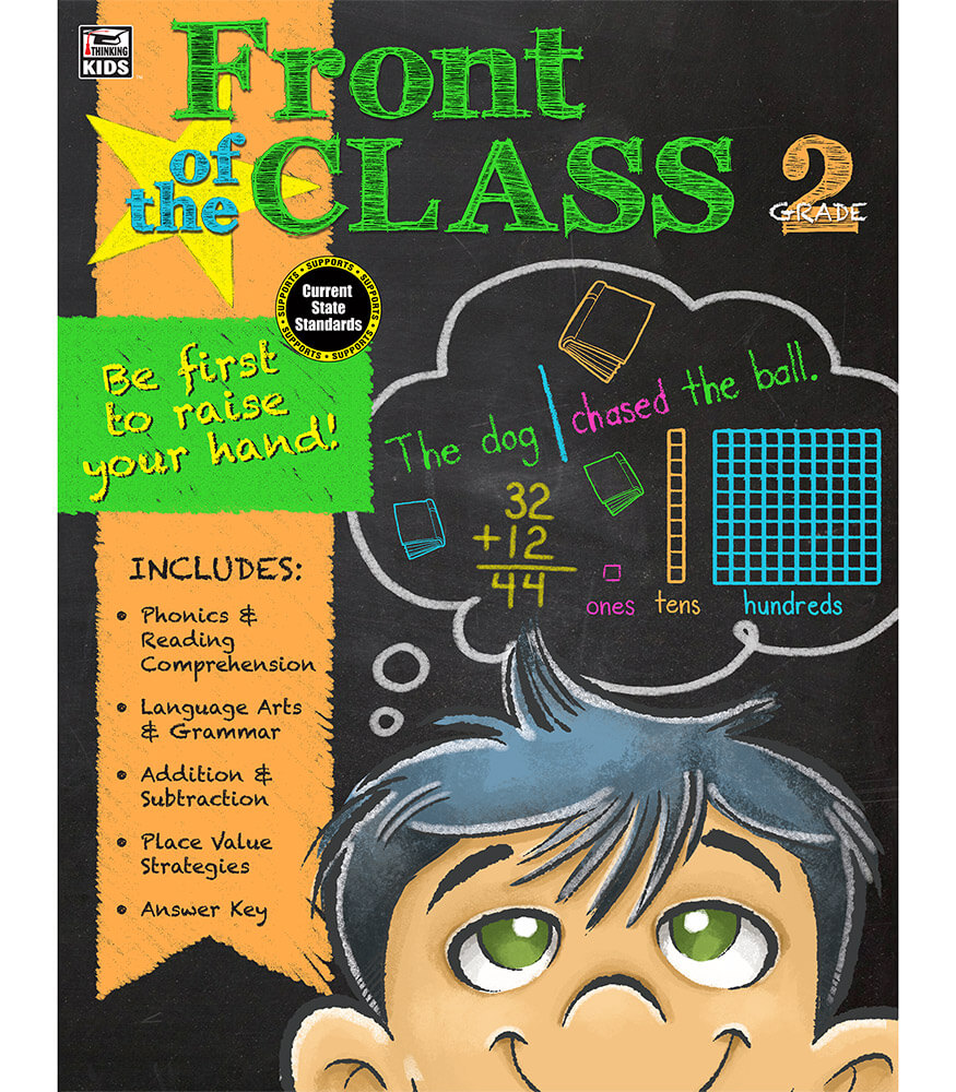 Front of the Class Workbook Product Image