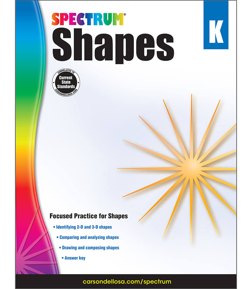 Spectrum Shapes Workbook Product Image