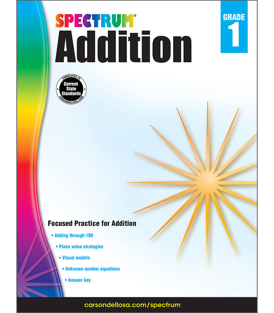 Spectrum Addition Workbook Product Image