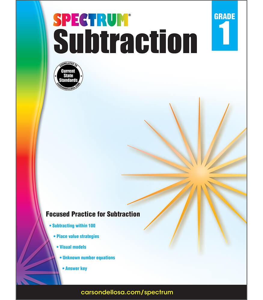 Spectrum Subtraction Workbook Product Image
