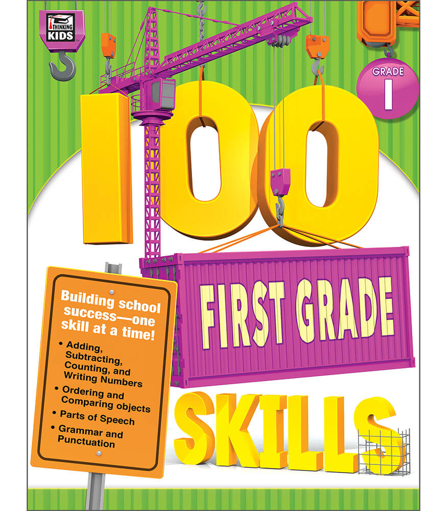 100 First Grade Skills Workbook Product Image