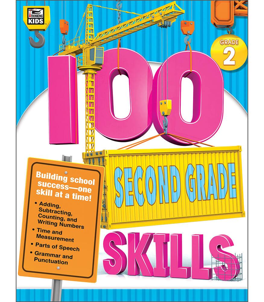 100 Second Grade Skills Workbook Product Image