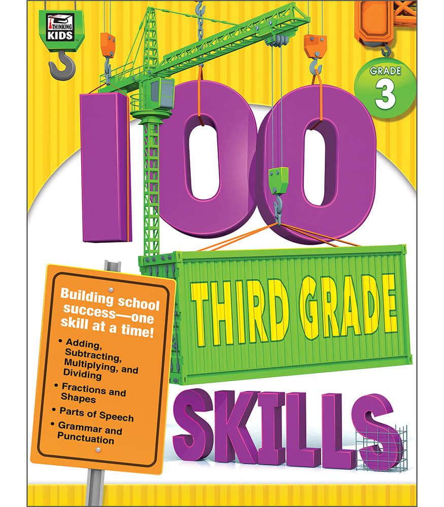 100 Third Grade Skills Workbook Product Image