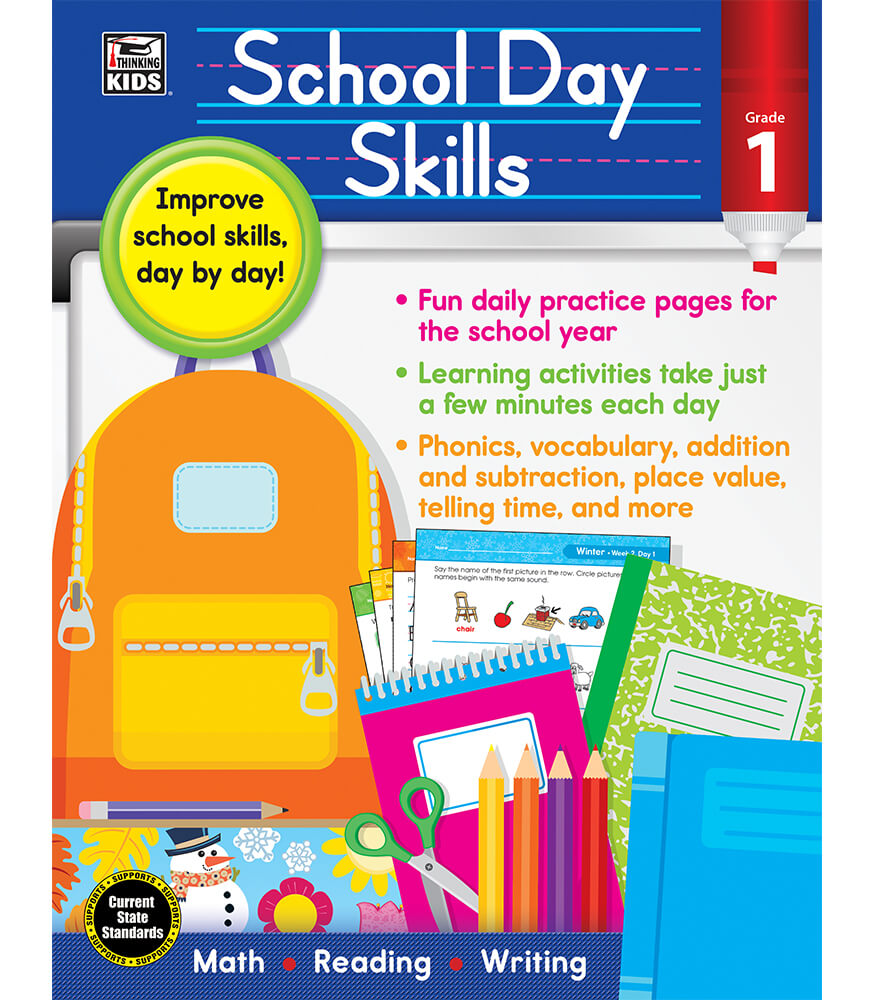 School Day Skills Workbook Product Image