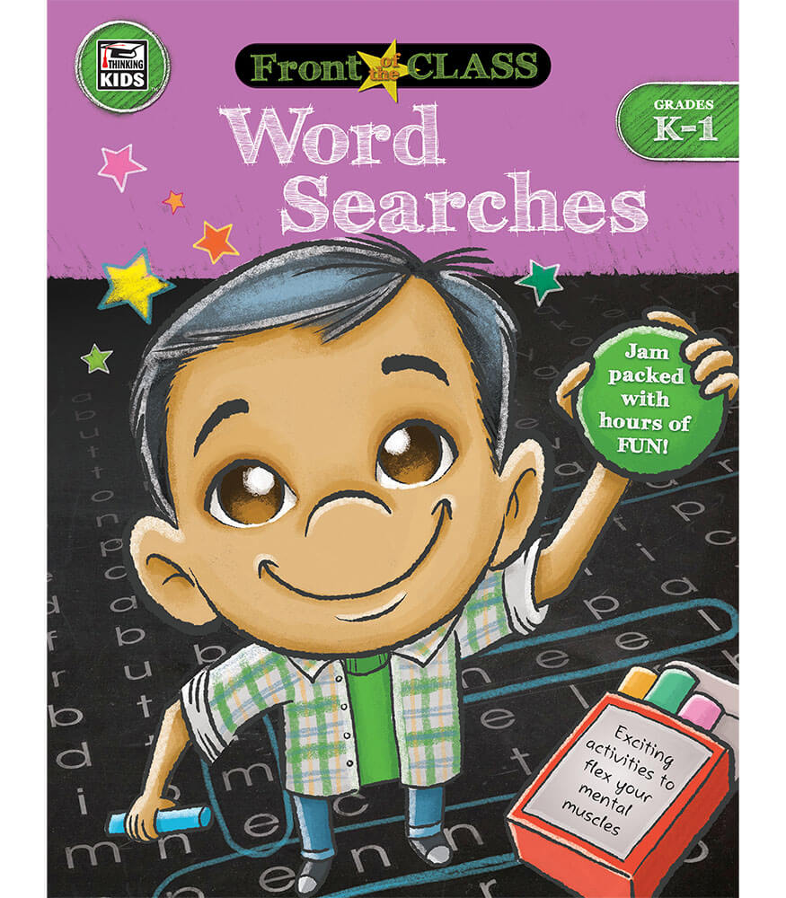 Word Searches Activity Book