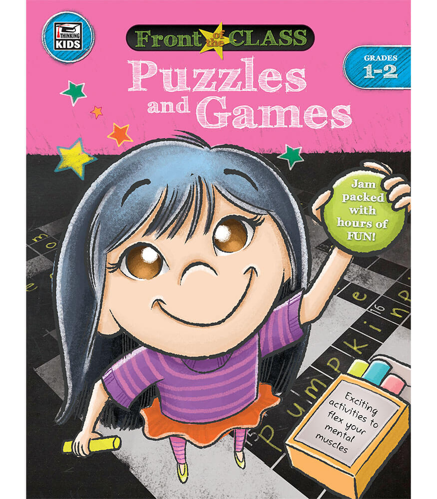 Puzzles and Games Activity Book Product Image