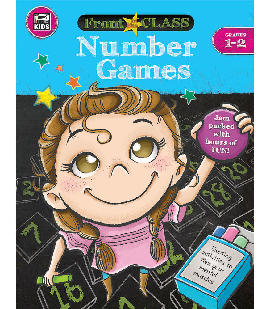 Number Games Activity Book Product Image