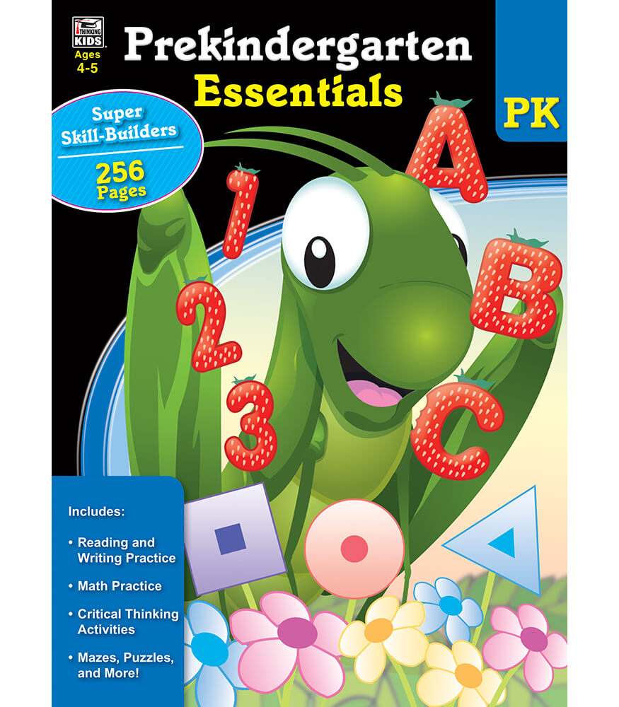 Prekindergarten Essentials Workbook Product Image