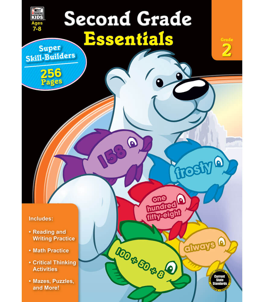Second Grade Essentials Workbook Product Image