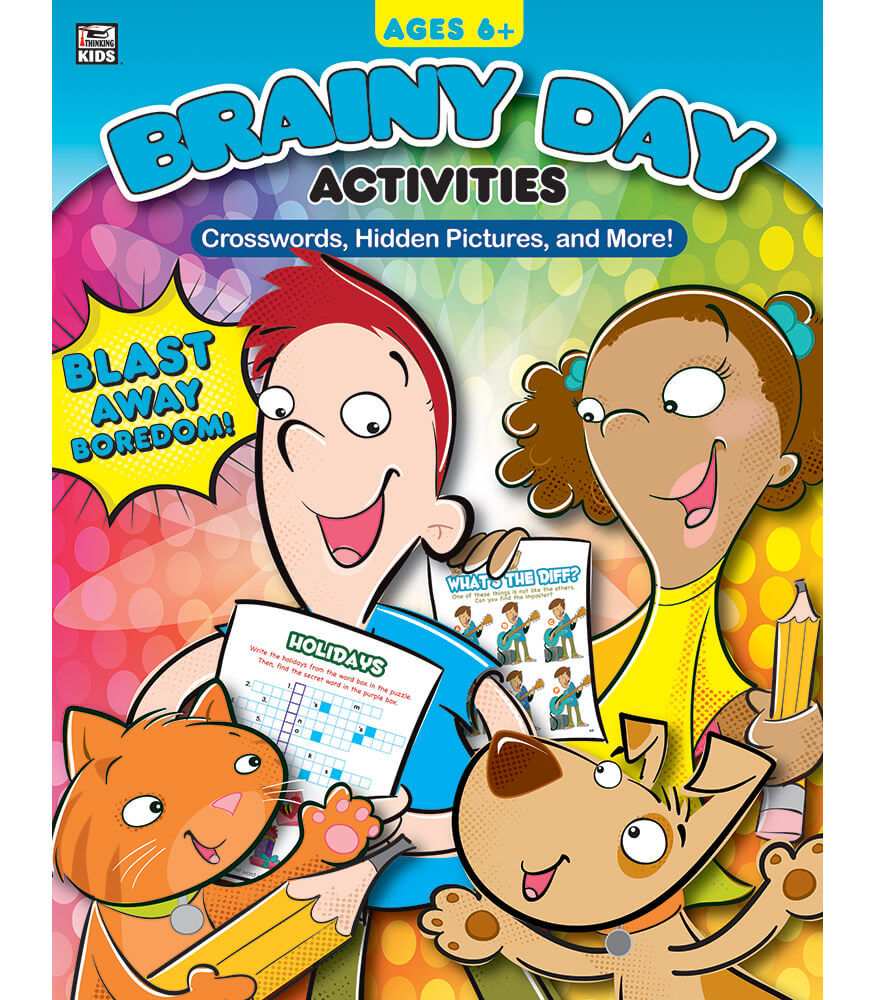 Crosswords, Hidden Pictures, and More Activity Book Product Image
