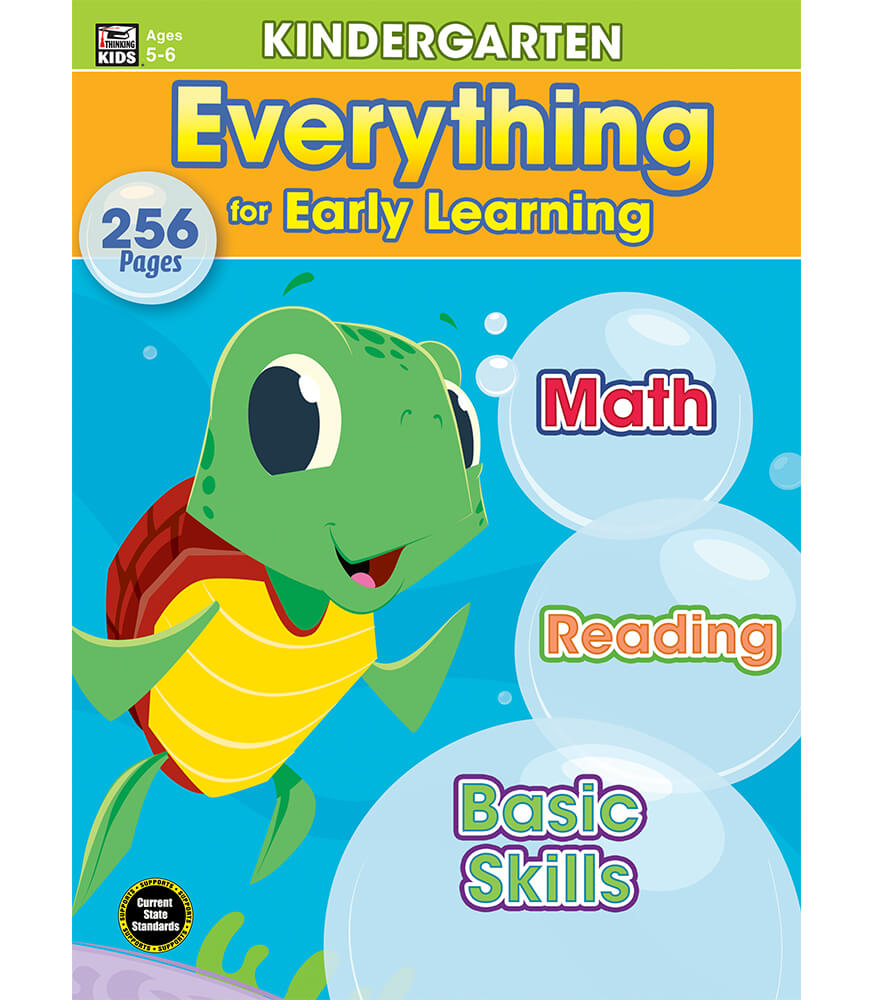 Everything for Early Learning Workbook Product Image