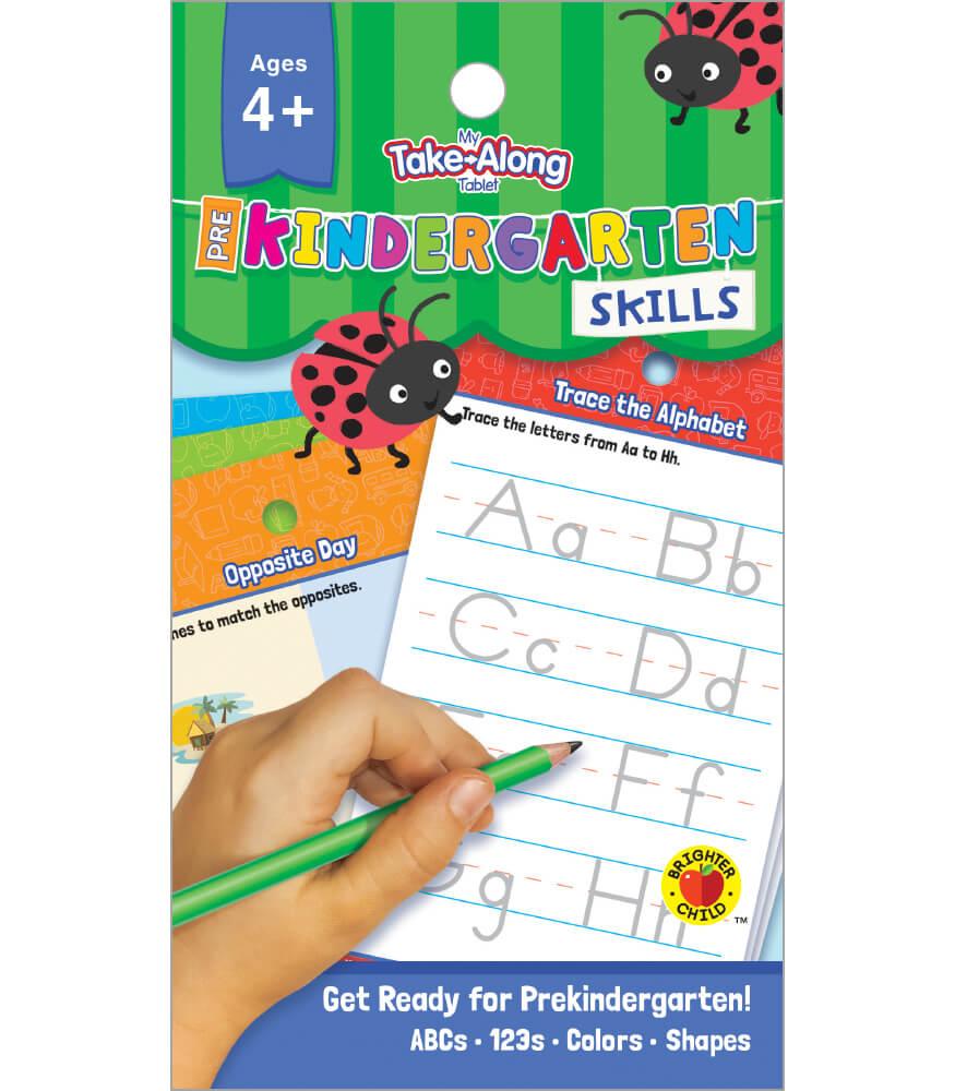 My Take Along Tablet Prekindergarten Skills Activity Pad Grade Pk