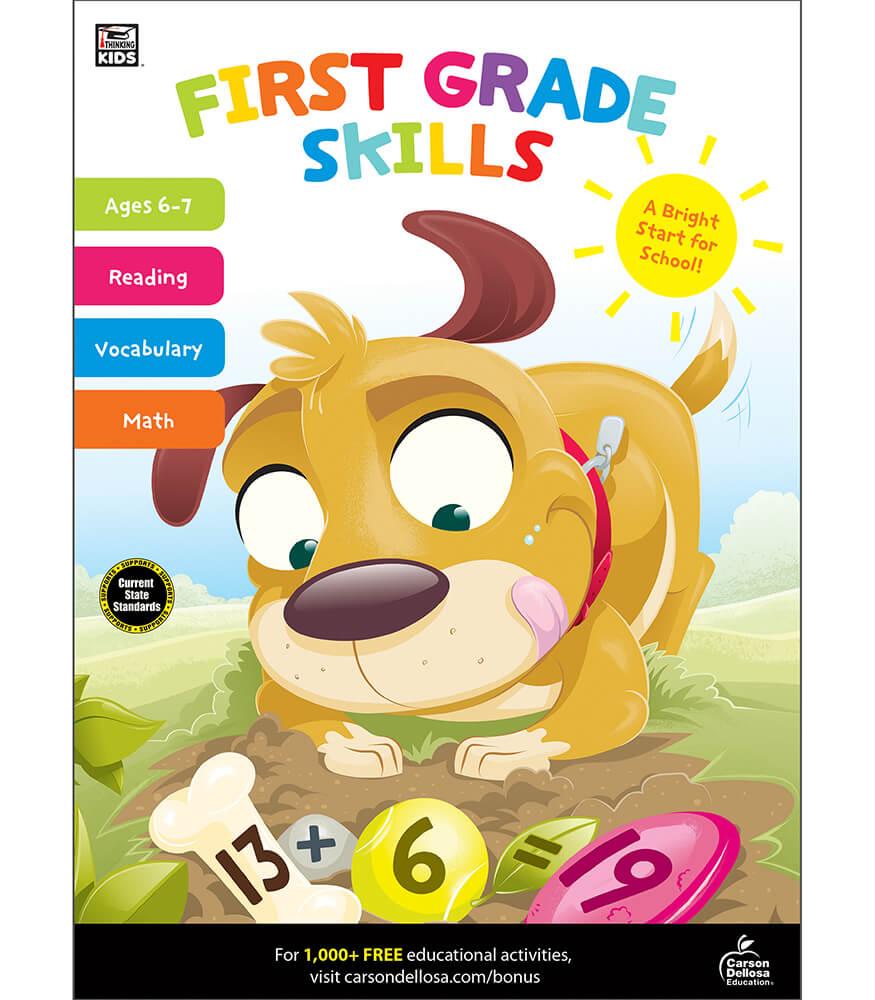 First Grade Skills Workbook Product Image