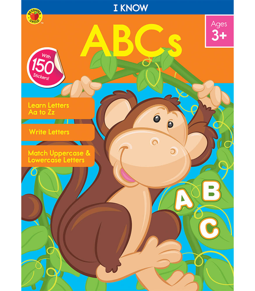 I Know: ABCs Activity Book Product Image