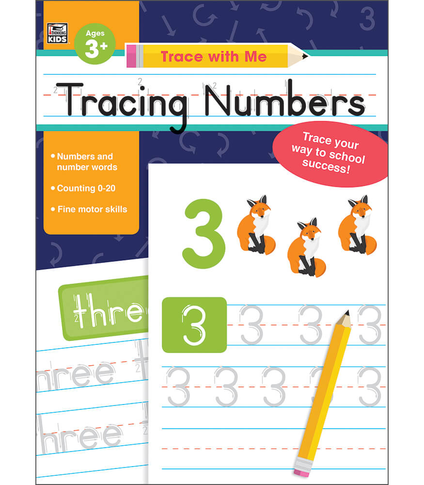 Tracing Numbers Activity Book Product Image