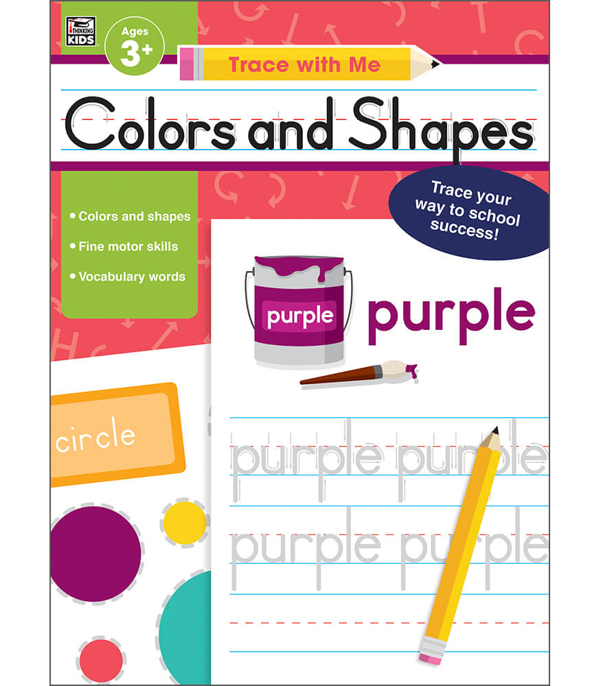 Colors and Shapes Activity Book Product Image