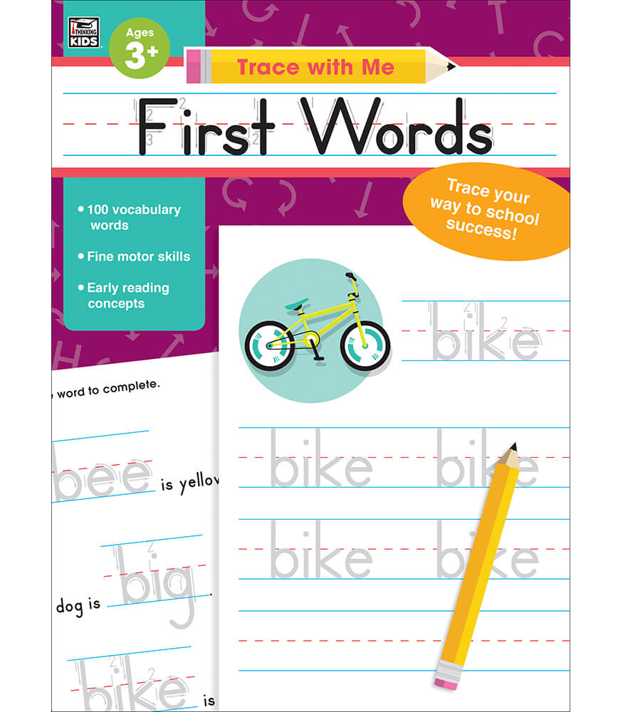 Trace with Me First Words Activity Book Product Image