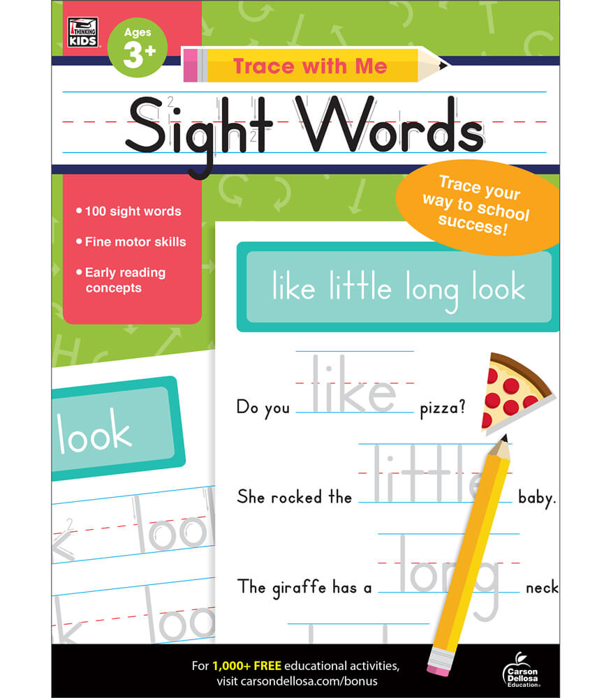 Sight Words Activity Book Product Image