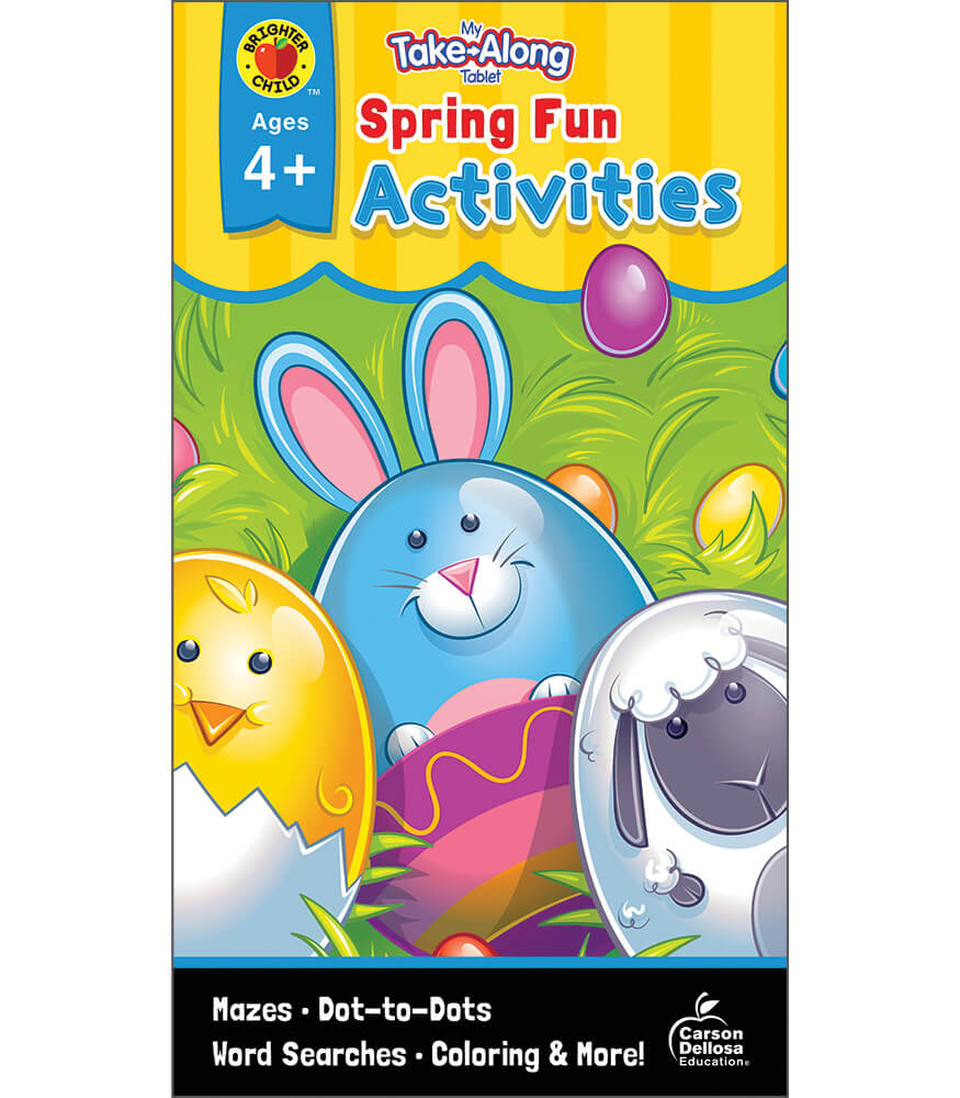 My Take-Along Tablet: Spring Fun Activities Activity Pad Product Image