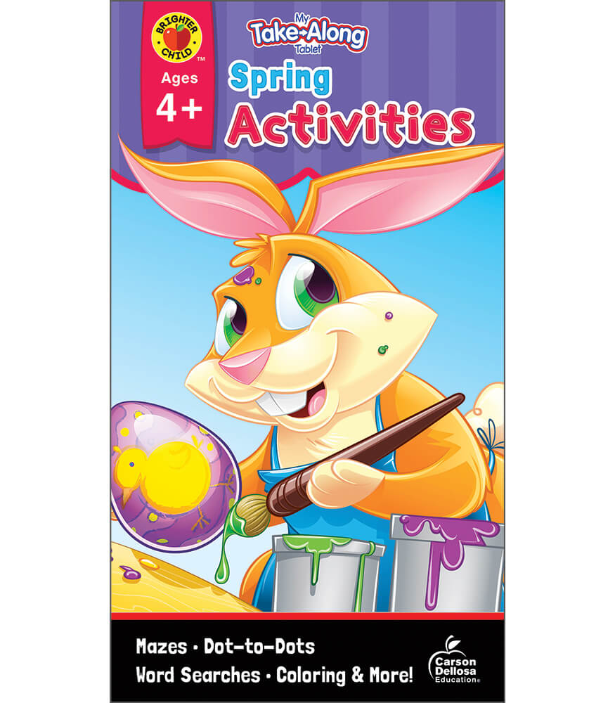 My Take-Along Tablet: Spring Activities Activity Pad Product Image