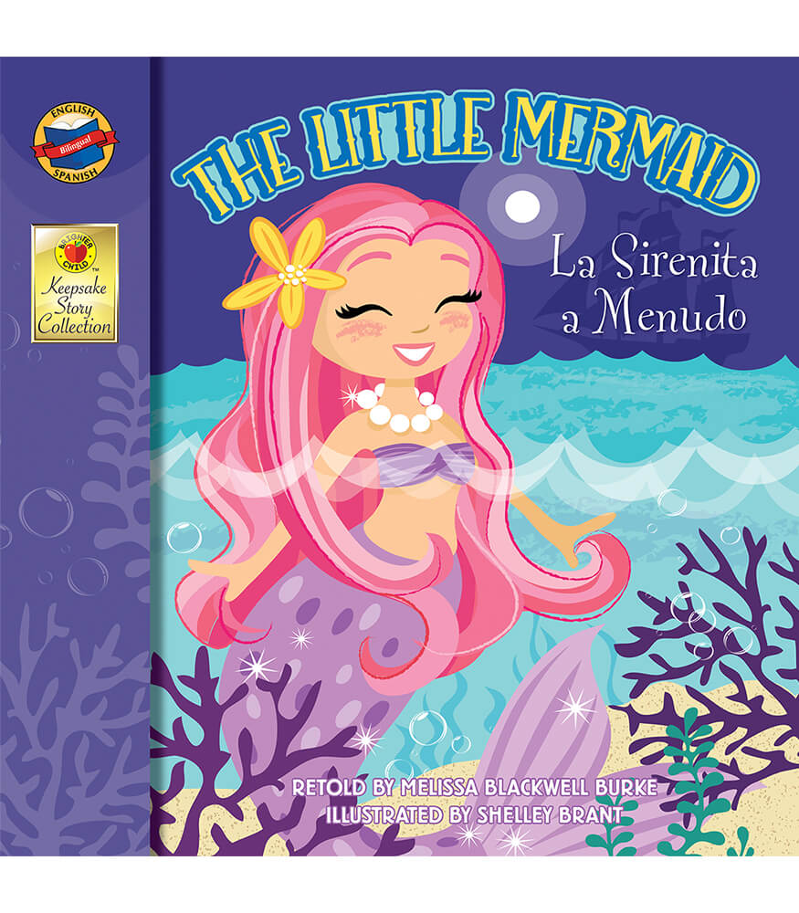 The Little Mermaid Bilingual Storybook Product Image
